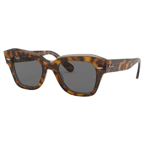 Ray-Ban - State Street Havana on transparent brown