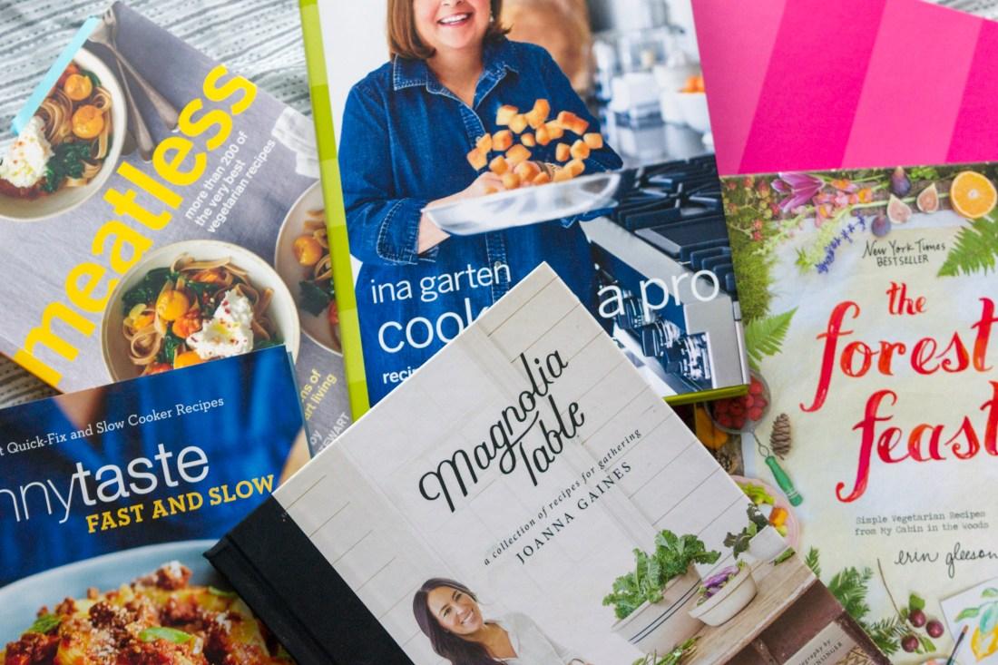Cookbooks for Meal Prep