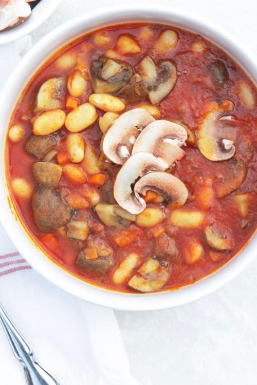 Mushroom & Bean Stew