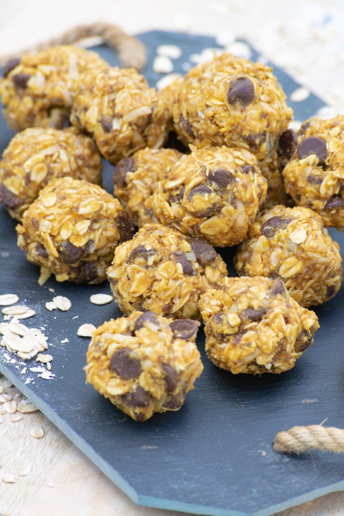 Pumpkin Peanut Butter Energy Balls