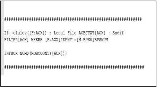 4GL sample Script