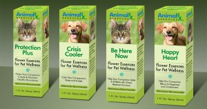 animal rx flower essence packaging design