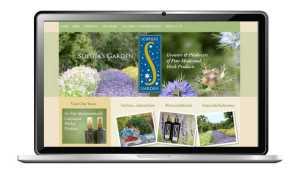 website design for biodynamic farm