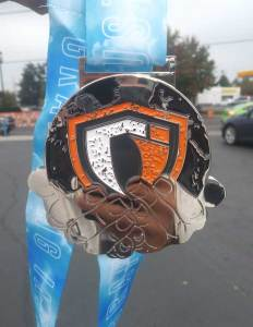 Grappling Industries Portland 2018 Medal