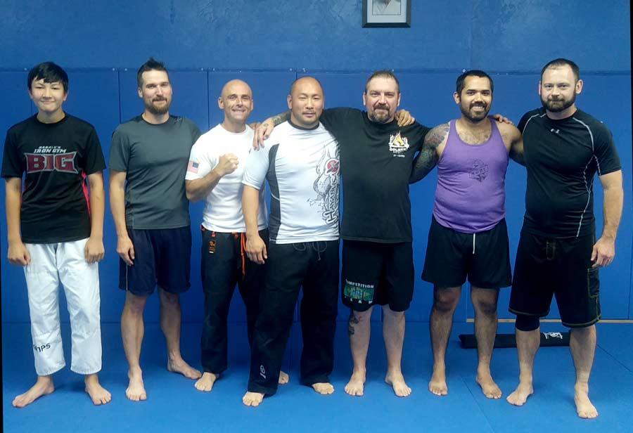 Ballistic Boxing Group Photo