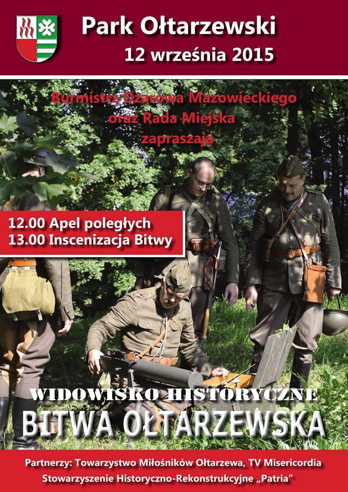 plakat Ołtarzew 2015