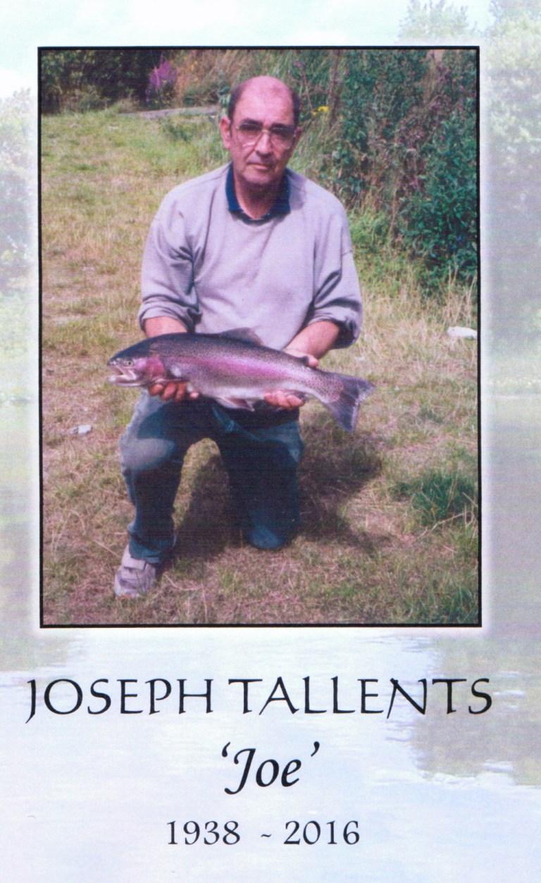 Joseph Tallents - 'Joe' - 1938 - 2016