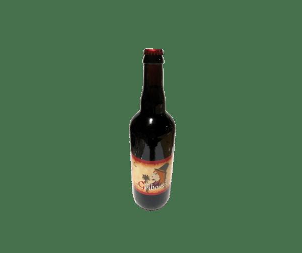 bière gribousine ambrée 75cl