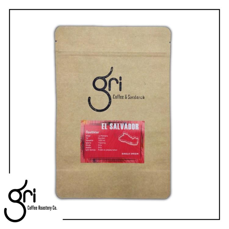 Gri Coffee El Salvador Filtre Kahve