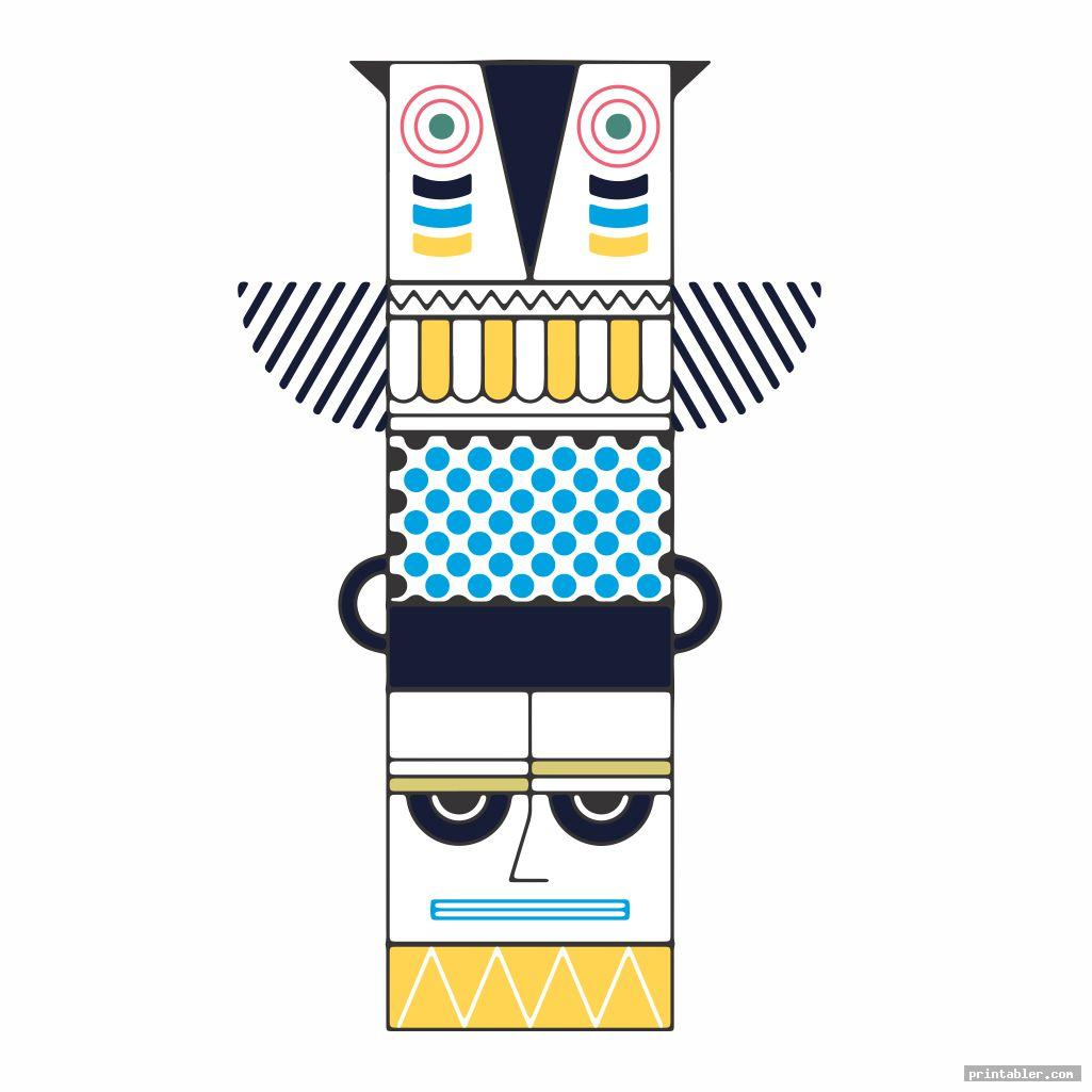 Printable Totem Pole Templates