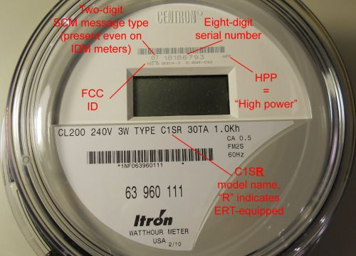 This is the Piece of Crap , Itron C1SR with a higher-power