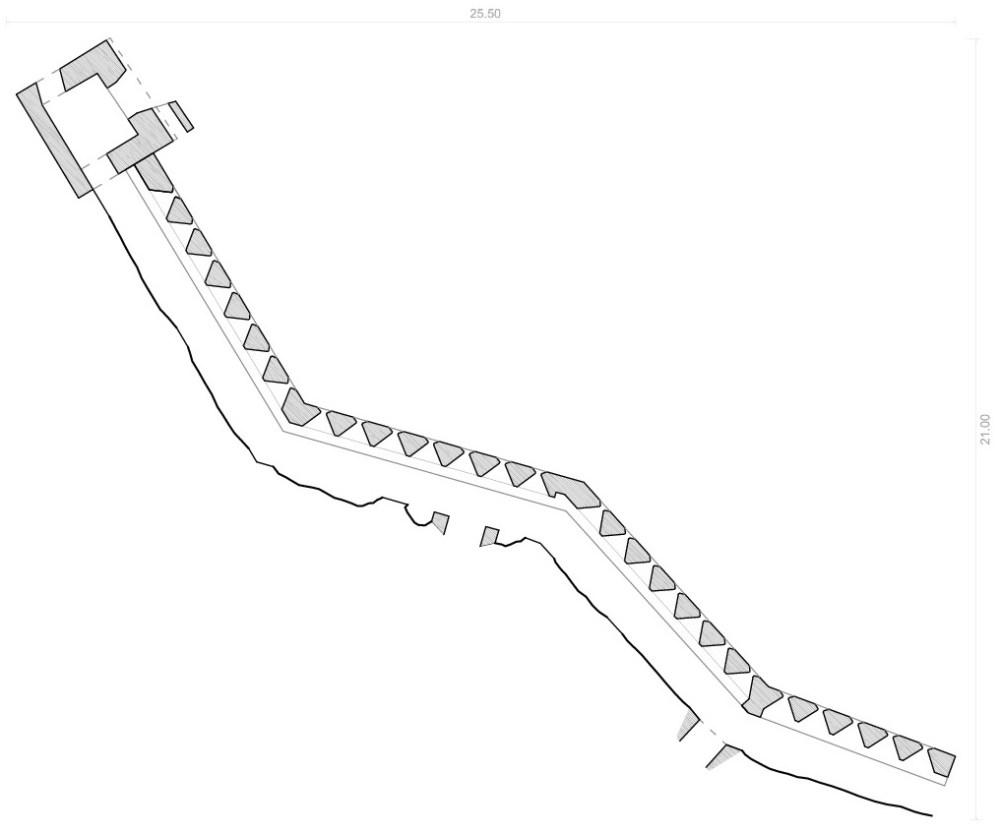medium resolution of planimetr as de las fortificaciones existentes en lloret de mar