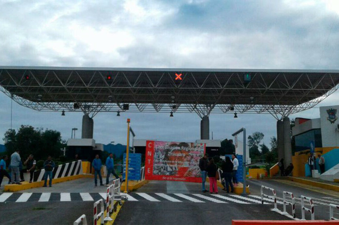CNTE continuará con movilizaciones en Michoacán