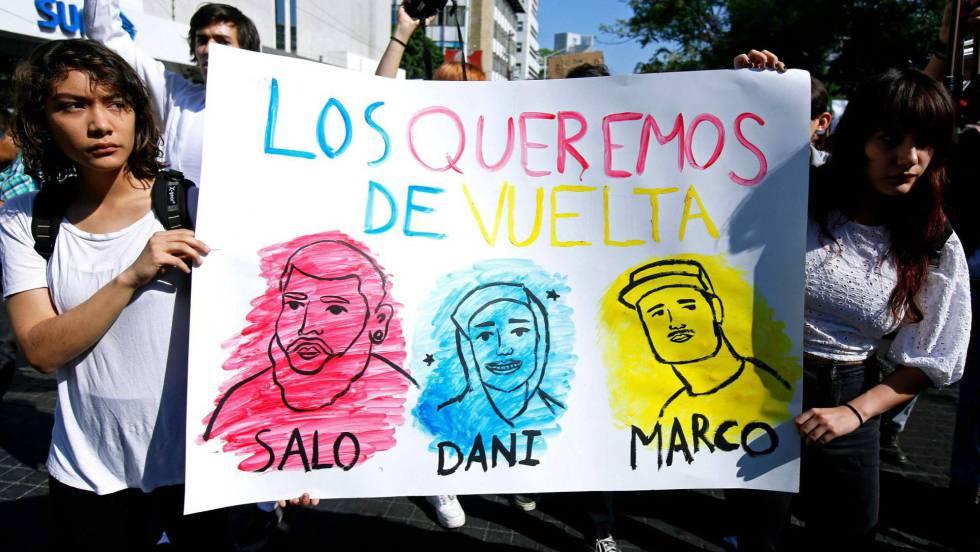 Los estudiantes de Jalisco se organizan para exigir a las autoridades un alto a la violencia La desaparición de cuatro jóvenes en la última semana ha desatado una serie de movilizaciones encabezadas por los universitarios