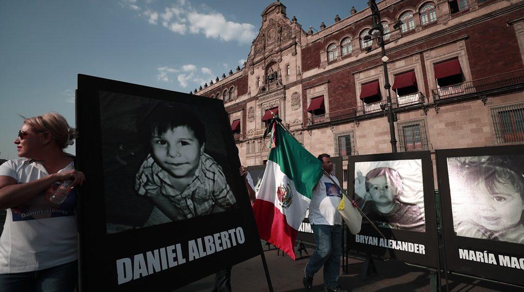 Marchan en Sonora y CDMX por víctimas de guardería ABC