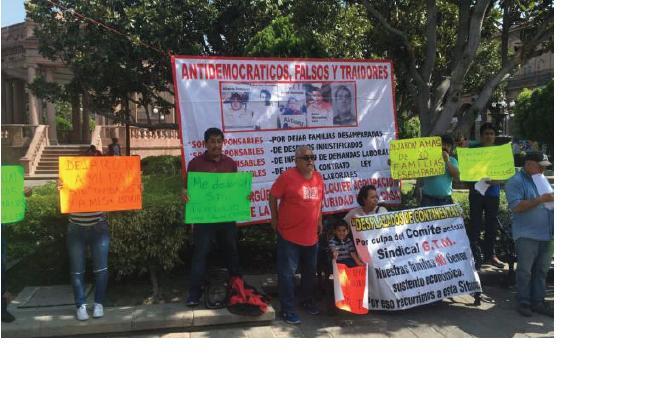 Se manifiestan ex trabajadores de Continental- General Tire (San Luis Potosí)