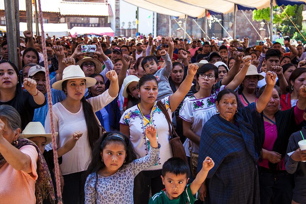 Cherán Michoacán nombra su tercer Consejo Mayor de su gobierno comunal