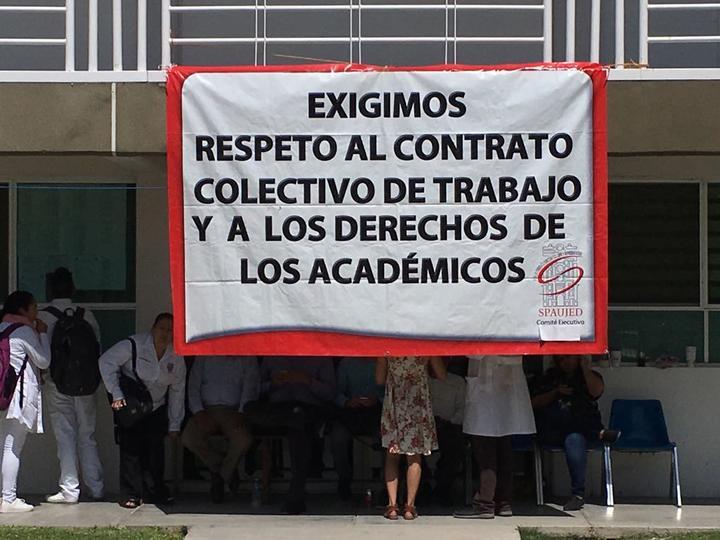 Académicos toman la dirección de la Facultad de Medicina (Durango)