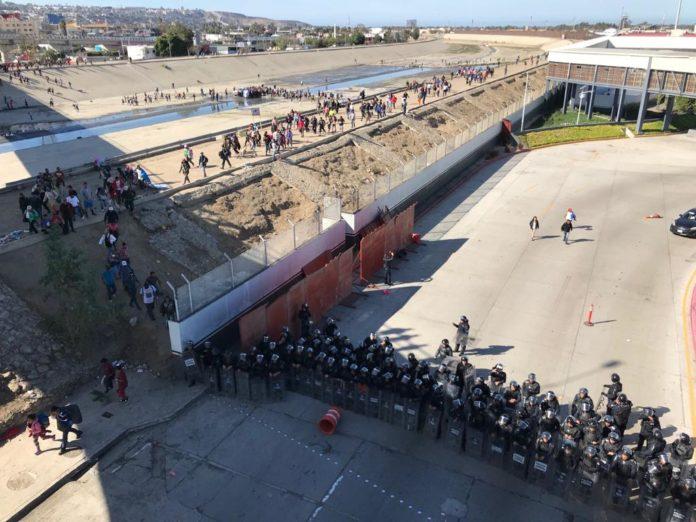 La Segob anuncia que el INM deportará a centroamericanos que intentaron ingresar a Estados Unidos (Baja California)