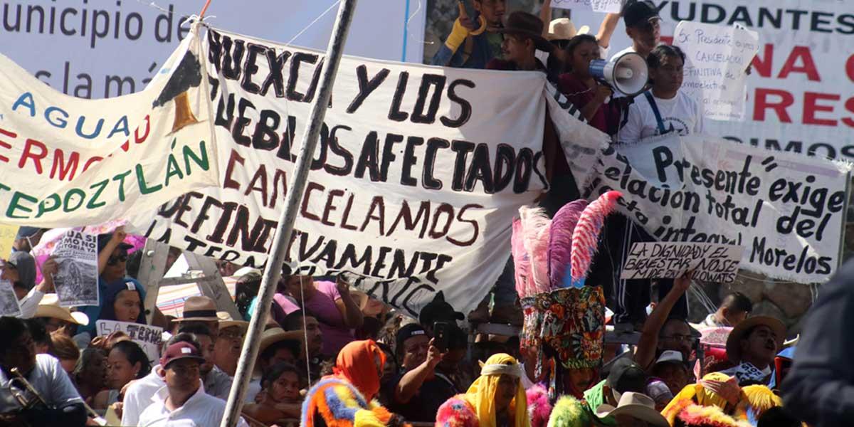 Carta abierta del Frente de Pueblos en Defensa de la Tierra y Agua Morelos, Puebla, Tlaxcala en contra de la imposición de la Termoeléctrica en Huexca y la reactivación del PIM.