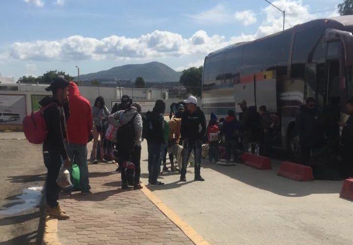 Arriban a Tijuana integrantes de tercera caravana migrante (Baja California)