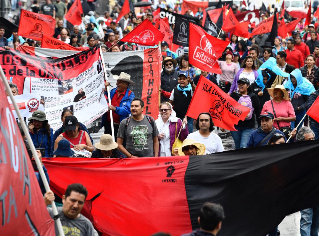 Sindicalizados denuncian cerrazón de las autoridades de la UAM… a 75 días de huelga (Ciudad de México)