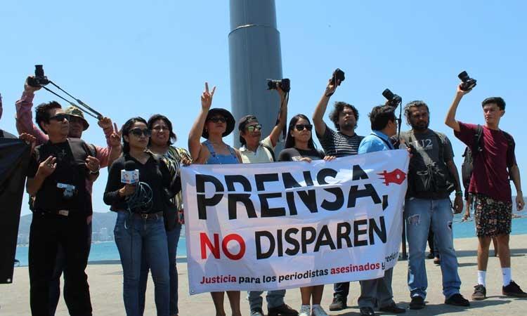 Guerrero, entre los estados con más agresiones contra periodistas