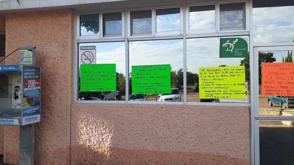 Derechohabientes reclaman servicio y medicinas en IMSS San Blas (Sinaloa)