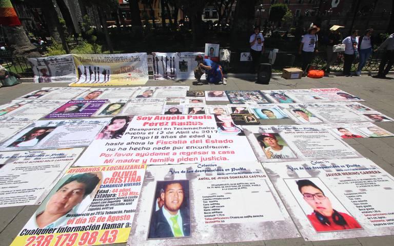 Suman en Puebla 8 mil 500 desaparecidos