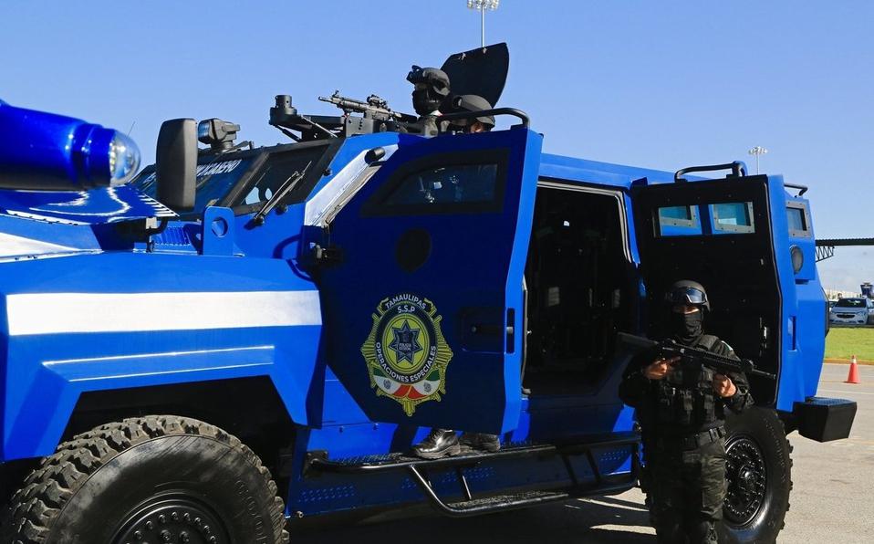EU entrenó a nuevo equipo policial de operaciones especiales de Tamaulipas