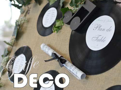 Dcoration Mariage Champtre Thme Musique Par Griffe Deco