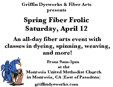 April 12 is our Spring Frolic!