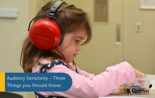 auditory sensitivity girl with headphones