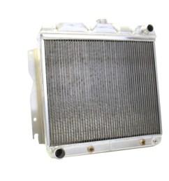 63 plymouth belvedere griffin aluminum radiator part number 5 70024 [ 1200 x 1200 Pixel ]