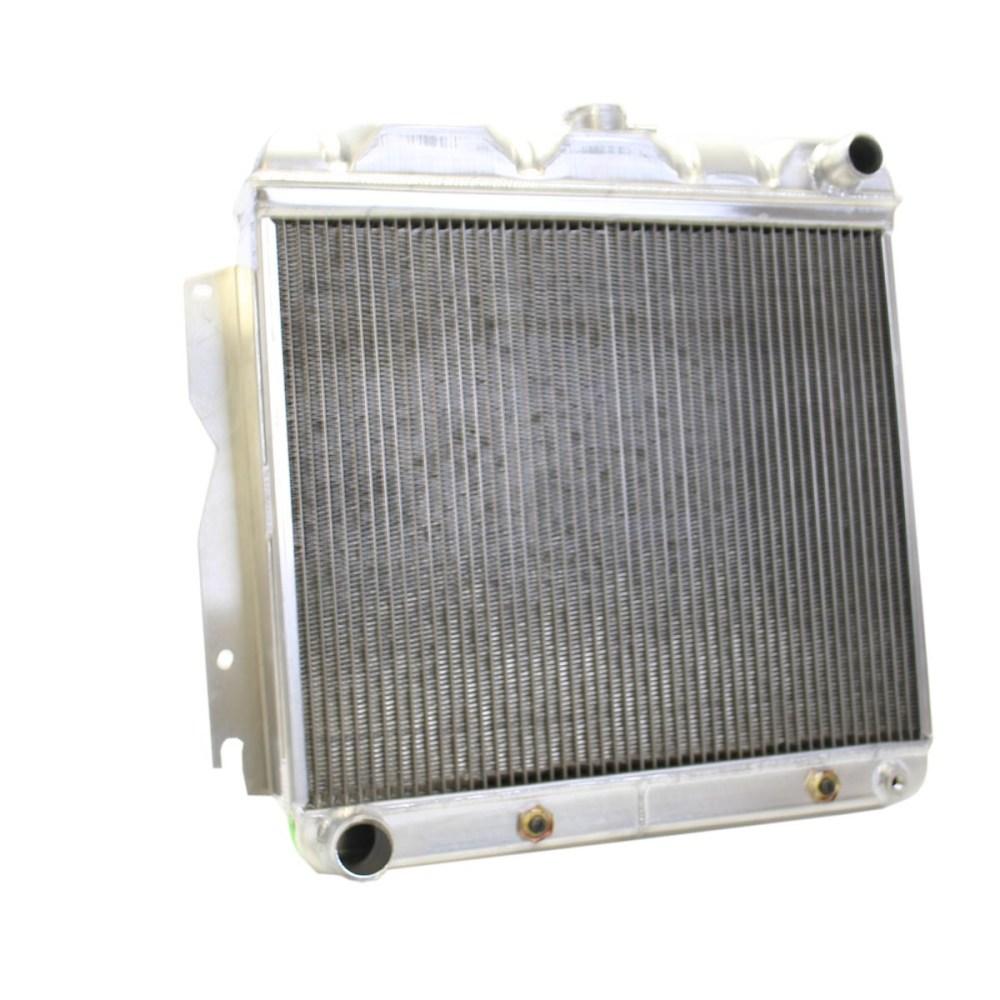 medium resolution of 63 plymouth belvedere griffin aluminum radiator part number 5 70024