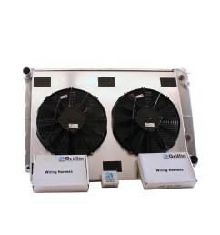 1969 chevrolet scottsdale griffin aluminum radiator part number 6 70123 [ 1150 x 1150 Pixel ]