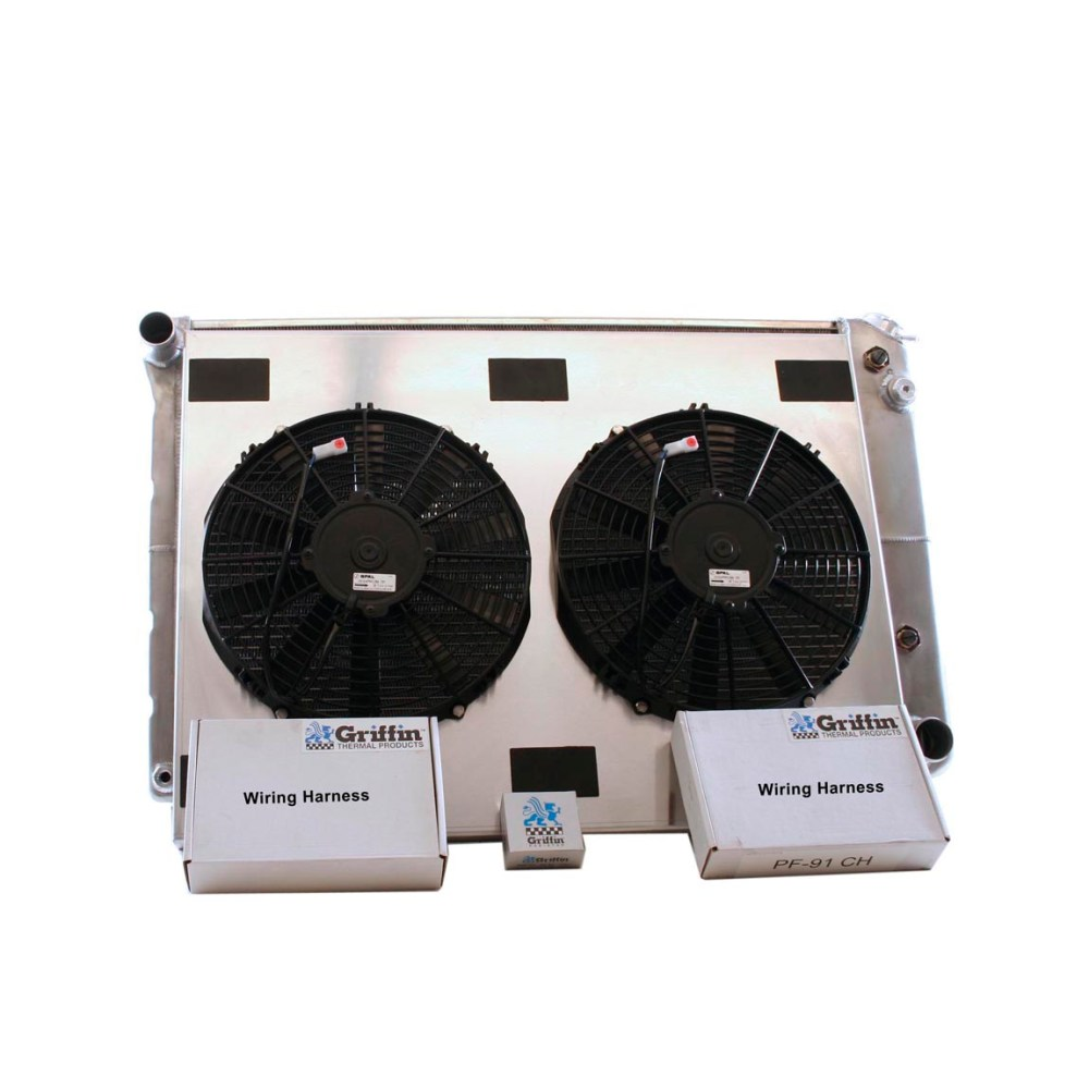medium resolution of 1969 chevrolet scottsdale griffin aluminum radiator part number 6 70123
