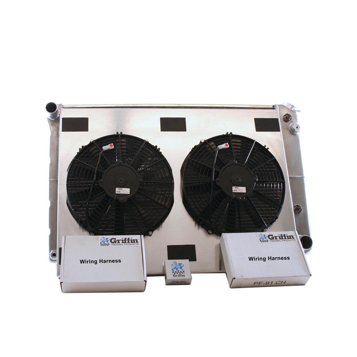 hight resolution of 1969 chevrolet scottsdale griffin aluminum radiator part number 6 70123