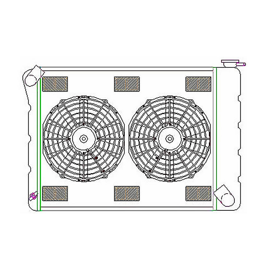 Griffin ExactFit ComboUnit Radiator Details for