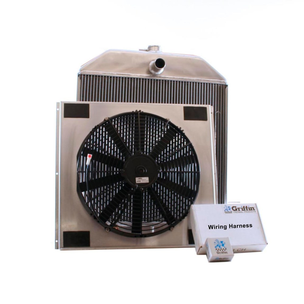 medium resolution of 1940 ford griffin aluminum radiator part number 7 70102