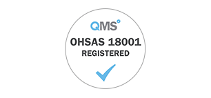 OHSAS18001 registered logo