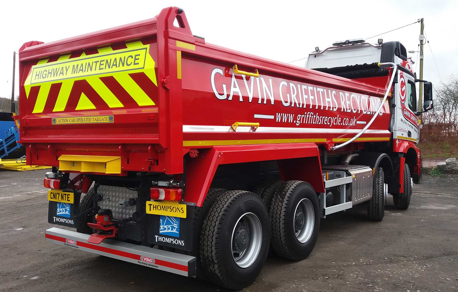 Gavin Griffiths Recycling Highway Maintenance