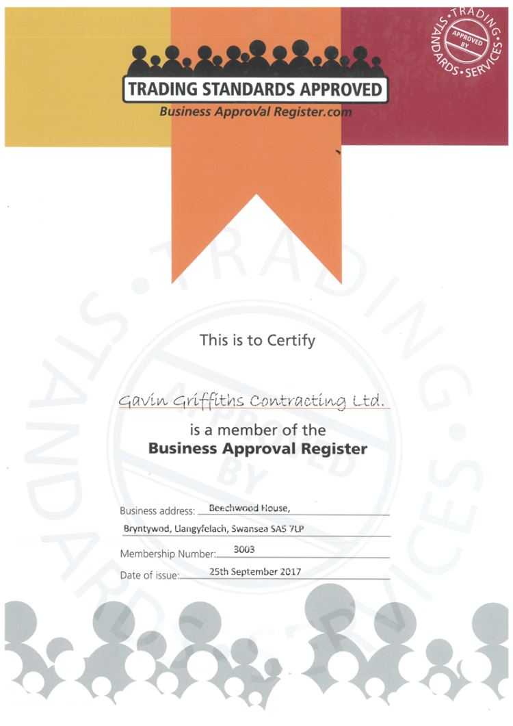 We are now Trading Standards Approved