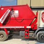 Griffiths Waste Management & Recycling Skip Wagon