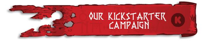 Our Kickstarter Campaign