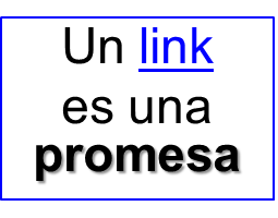 link is a promise