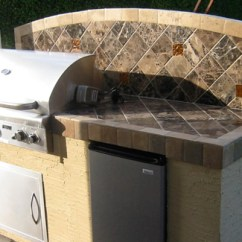 Pre Built Outdoor Kitchen Islands Zephyr Hood In Bbq Grills By American Grill For ...