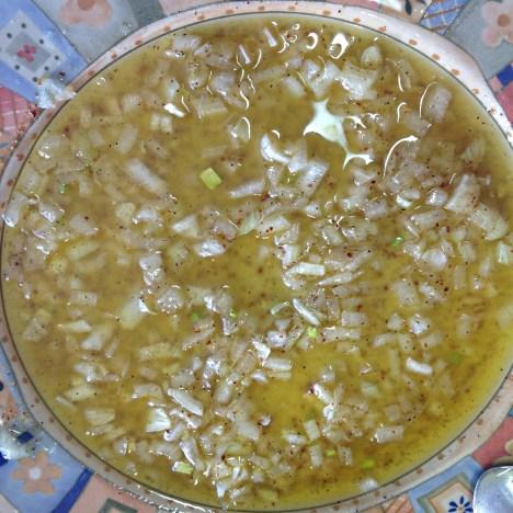 Marinade huile d olive citron vert piment d espelette