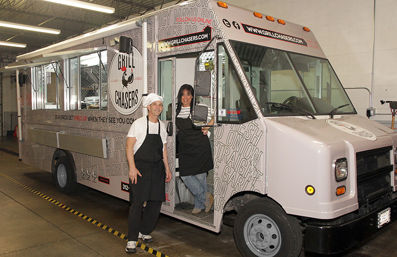 Chicago Suburbs Welcome A New Food Truck Taste Experience Grill