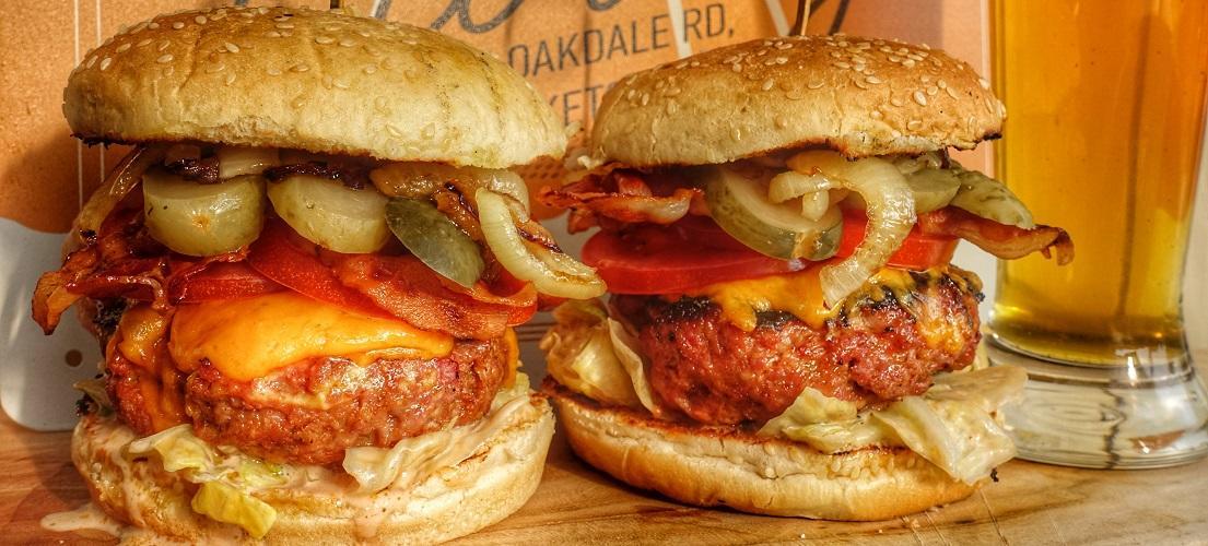 broodje hamburger bbq